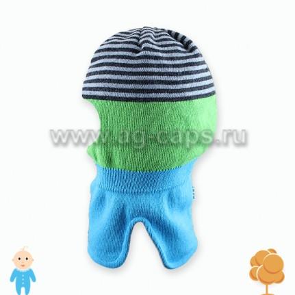 Шапка-шлем детская AJS J17 34-336 (на подкладке) - Фото
