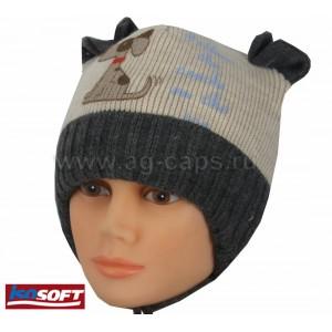 Шапка детская MAGROF BIS Z17 K-3433 (ISOSOFT) - Фото