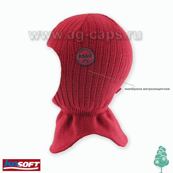 Шапка-шлем детская AGBO J17 1382 RYSIO (ISOSOFT) - Фото