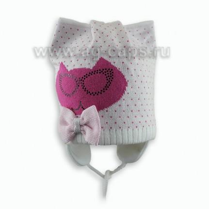 Шапка детская AGBO W18 1424 MALENA (на подкладке) - Фото