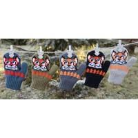 Варежки детские MARGOT BIS 419 FOX (двойные со шнурком)