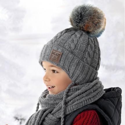 Комплект детский AJS 418 36-369 (хлопковый флис Футтер) - Фото