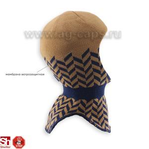 Шапка-шлем детская SMILE 18231 5m-HELMET (SHELTER) AG - Фото