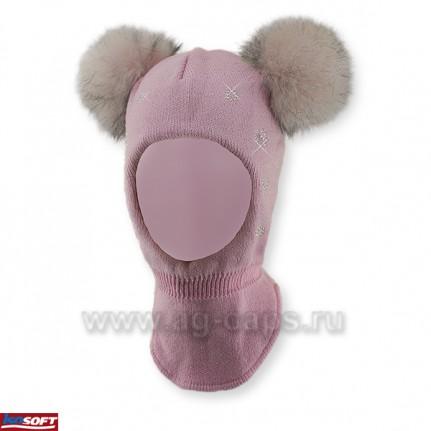 Шапка-шлем детская AGBO 418 1830 WIERA (ISOSOFT) - Фото