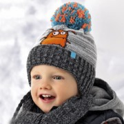 Комплект детский AJS 418 36-347 (хлопковый флис Футтер) - Фото