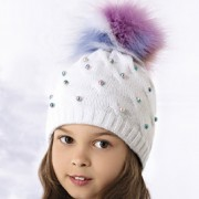 Шапка детская AJS 418 36-400 (двойная вязка) - Фото