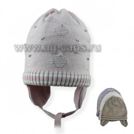 Шапка детская SELFIE CZd ANYA 219151 BAW-H (на подкладке) - Фото