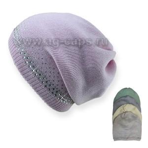 Шапка детская SELFIE CZd OXANA 219169 BAW-H (на подкладке) - Фото
