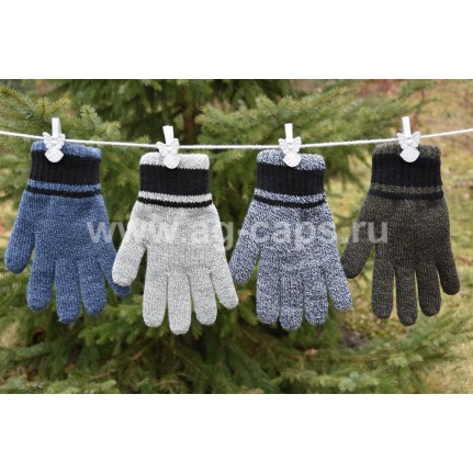 Перчатки детские MARGOT BIS 420 DYLAN (двойные) - Фото