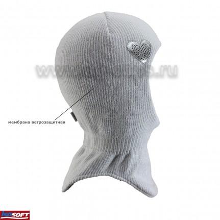 Шапка-шлем детская AGBO 419 2432 ANIKA 2 (ISOSOFT) - Фото
