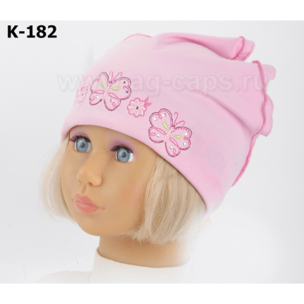 Шапка детская-косынка MAGROF BIS K-182 (одинарный трикотаж) - Фото