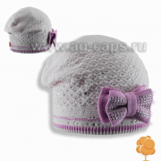 Шапка детская AGBO 491 DALIDA (двойная вязка) - Фото