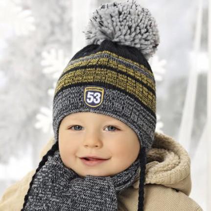 Комплект детский AJS 419 38-437 (двойная вязка) - Фото