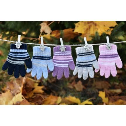 Перчатки детские MARGOT BIS 419 TOSKA (одинарные) - Фото