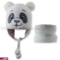 Комплект детский AMAL 419 PANDA D (ISOSOFT)+(снуд одинарный)