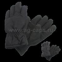 Перчатки мужские MICHELLE 419 DARK-SHINEL M (флис, подкладка иск. мех, утеплены Тинсулейт)