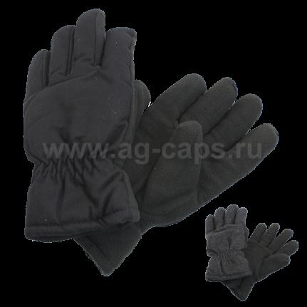 Перчатки мужские MICHELLE 419 DARK-SHINEL M (флис, подкладка иск. мех, утеплены Тинсулейт) - Фото