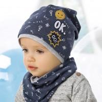 Комплект детский AJS 220 40-070 (одинарный трикотаж+снуд дойной трикотаж) [48-50]