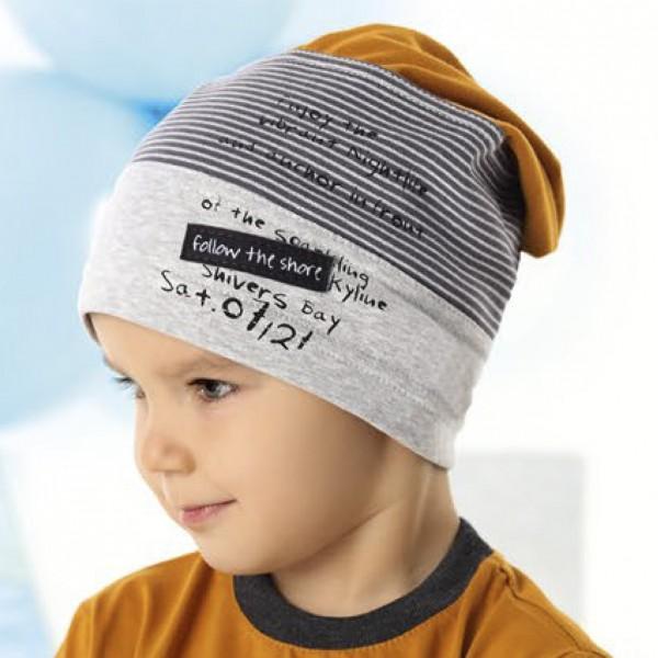 Шапка детская AJS 220 40-190 (одинарный трикотаж) [52-54] - Фото
