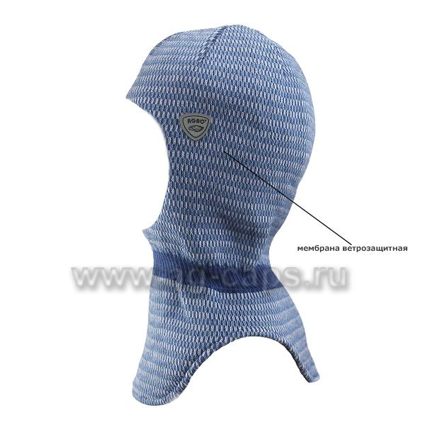 Шапка-шлем детская AGBO 220 2149 SEZAM (на подкладке) - Фото