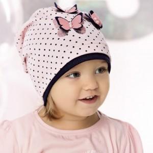 Шапка детская AJS 220 40-026 (одинарный трикотаж) [48-50] - Фото