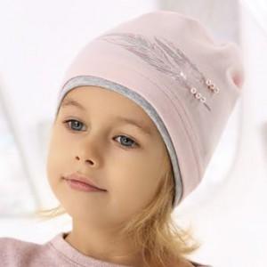 Шапка детская AJS 220 40-076 (одинарный трикотаж) [52-54] - Фото