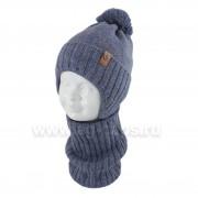 Комплект детский AGBO 420 3156 DOMINIK4 (хлопковый флис Футтер)+(снуд одинарный) - Фото