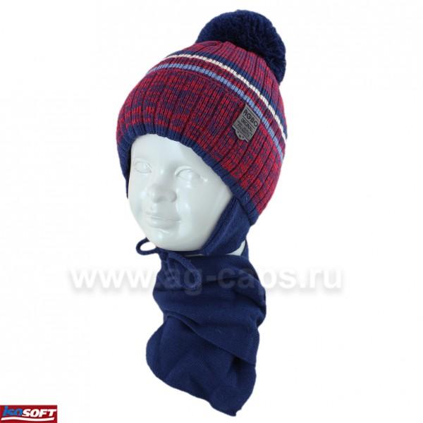 Комплект детский AGBO 420 2847 ARGO (ISOSOFT)+(шарф одинарный) - Фото