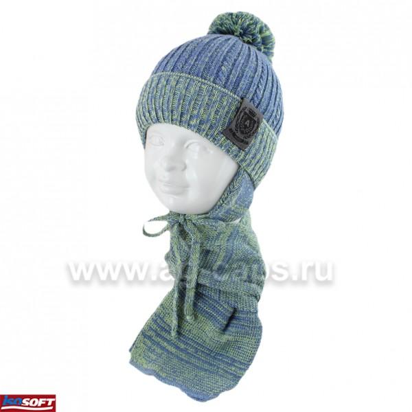 Комплект детский AGBO 420 2709 FALKON (ISOSOFT)+(шарф одинарный) - Фото