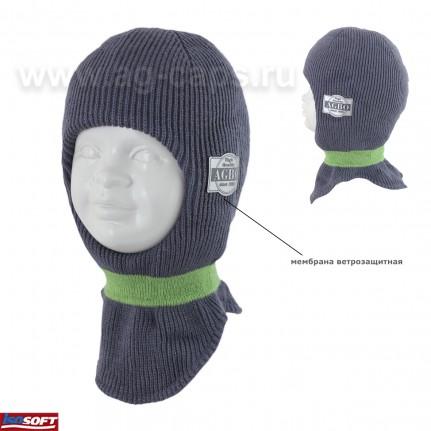 Шапка-шлем детская AGBO 420 3006 CYKLON (ISOSOFT) - Фото