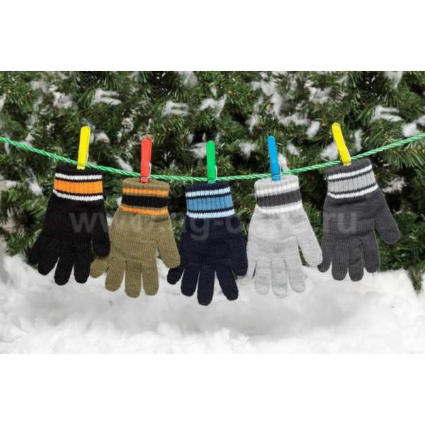 Перчатки детские MARGOT BIS 420 DIEGO (одинарные) - Фото