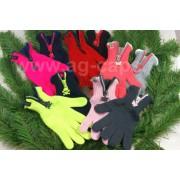 Перчатки детские MARGOT BIS 420 FUNNY ZIP (на флисе на пальцах одинарные) - Фото