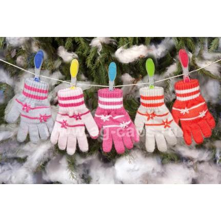 Перчатки детские MARGOT BIS 420 GLORIA (одинарные) - Фото