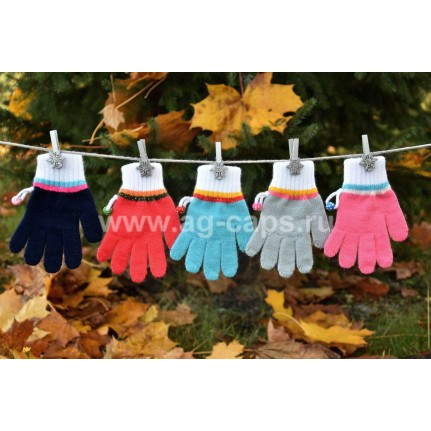 Перчатки детские MARGOT BIS 420 KOMETA (одинарные) - Фото