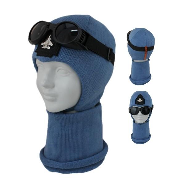 Комплект детский SELFIE KPL2m0 AIRFORCE 420425 ACR-SHH (SHELTER)+(снуд двойной) - Фото