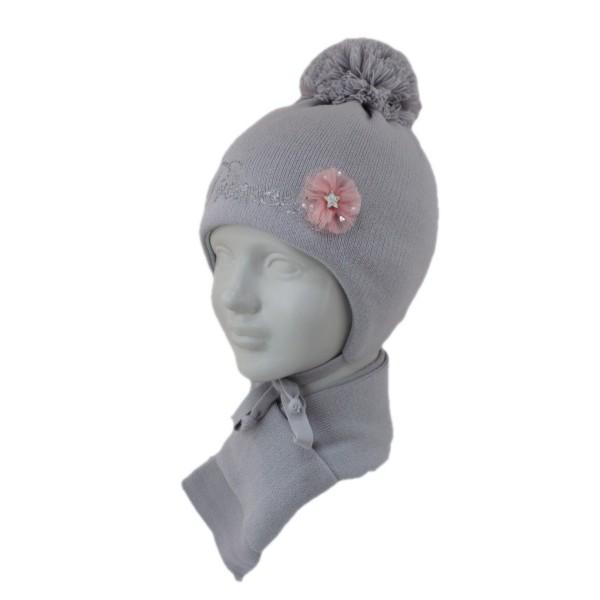 Комплект детский SELFIE KPL1d1 TSAREVNA 420439 ACR-SHH (SHELTER)+(шарф одинарный) - Фото