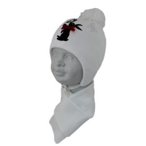 Комплект детский SELFIE KPL1d1 RABBIT 420440 ACR-SHH (SHELTER)+(шарф одинарный) - Фото