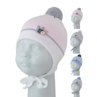 Шапка детская SELFIE CZmd 1 TWOBUNNY 420433 ACR-Н (на подкладке)