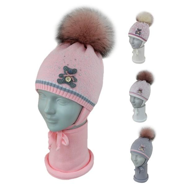 Комплект детский SELFIE KPL2d3 GONORATA 420465 ACR-SHH (SHELTER)+(снуд двойной) - Фото