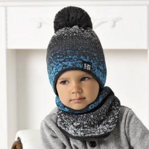 Комплект детский AJS 420 40-500 (двойная вязка)+(снуд одинарный) - Фото