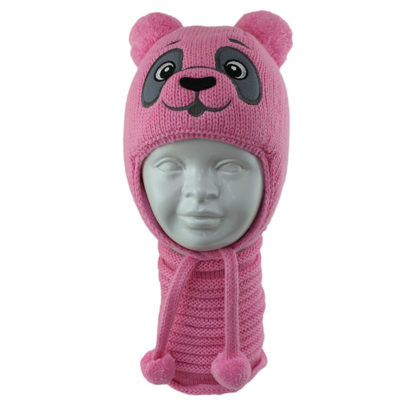 Комплект детский AMAL 420 PANDA D (ISOSOFT)+(снуд одинарный) - Фото