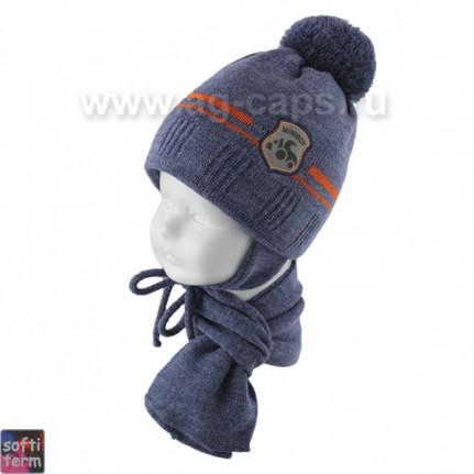 Комплект детский GRANS 420 A-1096ST kat KA17 (ISOSOFT)+(шарф одинарный) - Фото
