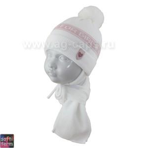 Комплект детский GRANS 420 A-1045ST kat KA17 (ISOSOFT)+(шарф одинарный) - Фото