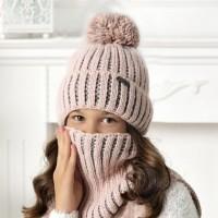 Комплект детский AJS 420 40-532 (подкладка хлопковый флисе Футтер)+(шарф одинарный)