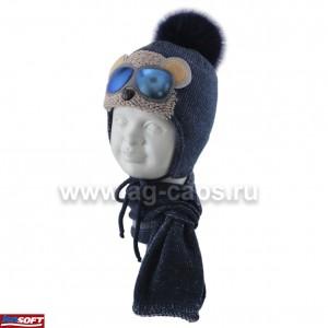 Комплект детский AMBRA 420 N-05 (ISOSOFT)+(шарф одинарный) - Фото