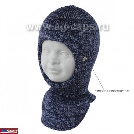 Шапка-шлем детская AGBO 420 2959 DUNAJ (ISOSOFT) - Фото