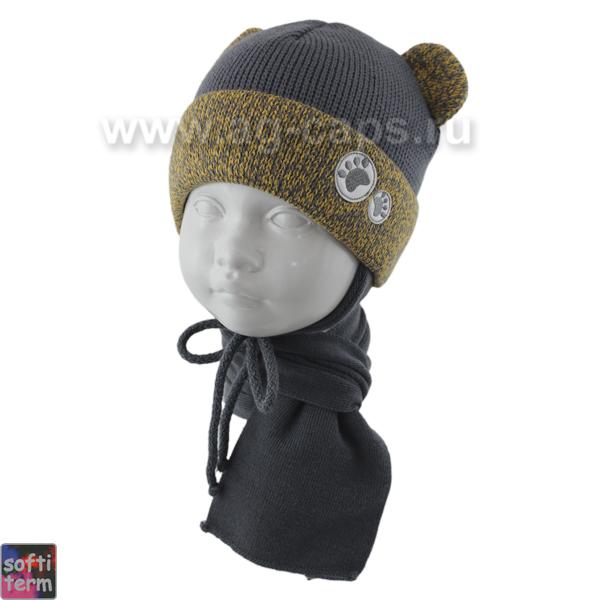 Комплект детский GRANS 420 A-1110ST kat KA17 (ISOSOFT)+(шарф одинарный) - Фото
