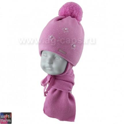 Комплект детский GRANS 420 A-1024ST kat KA16 (ISOSOFT)+(шарф одинарный) - Фото