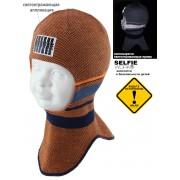 Шапка-шлем детская SELFIE SHLm 0 ELIS 420487 ACR-H (на хлопковой подкладке) - Фото