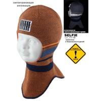 Шапка-шлем детская SELFIE SHLm 0 ELIS 420487 ACR-H (на хлопковой подкладке)